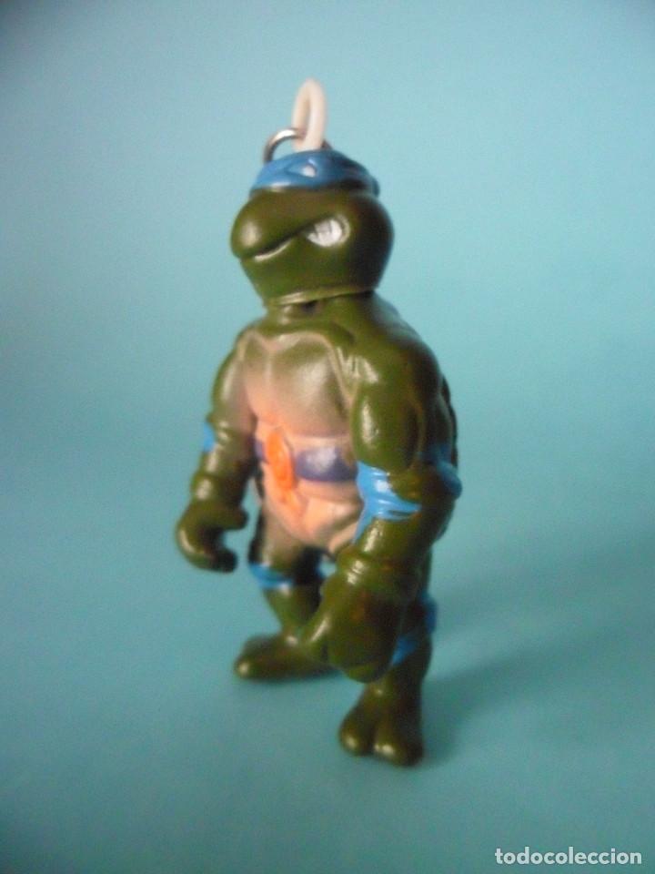 Figuras y Muñecos Tortugas Ninja: TMNT TORTUGAS NINJA RARA FIGURA LLAVERO BOOTLEG DE 5 CM - Foto 2 - 69827685