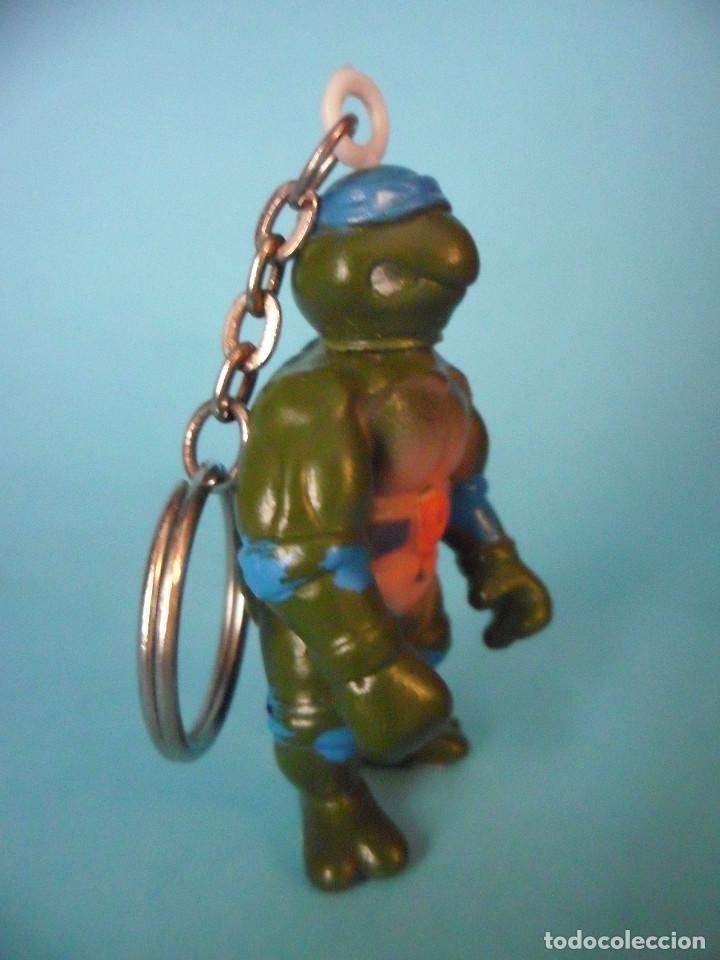 Figuras y Muñecos Tortugas Ninja: TMNT TORTUGAS NINJA RARA FIGURA LLAVERO BOOTLEG DE 5 CM - Foto 3 - 69827685