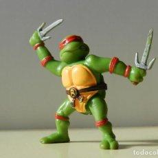 Figuras y Muñecos Tortugas Ninja: FIGURA RAPHAEL TORTUGA NINJA TORTUGAS RAPH TURTLES YOLANDA 1988 MIRACLE ESTUDIOS FIGURA RAFAEL. Lote 71909067