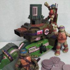 Figuras y Muñecos Tortugas Ninja: CAMION LANZADISCOS DE LAS TORTUGAS NINJA.. Lote 75117871