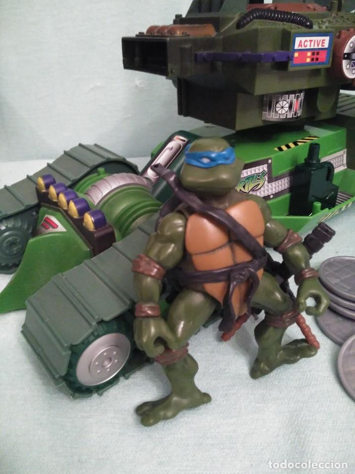 Figuras y Muñecos Tortugas Ninja: Camion lanzadiscos de las tortugas NINJA. - Foto 2 - 75117871