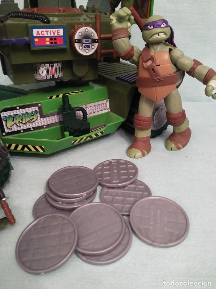Figuras y Muñecos Tortugas Ninja: Camion lanzadiscos de las tortugas NINJA. - Foto 3 - 75117871