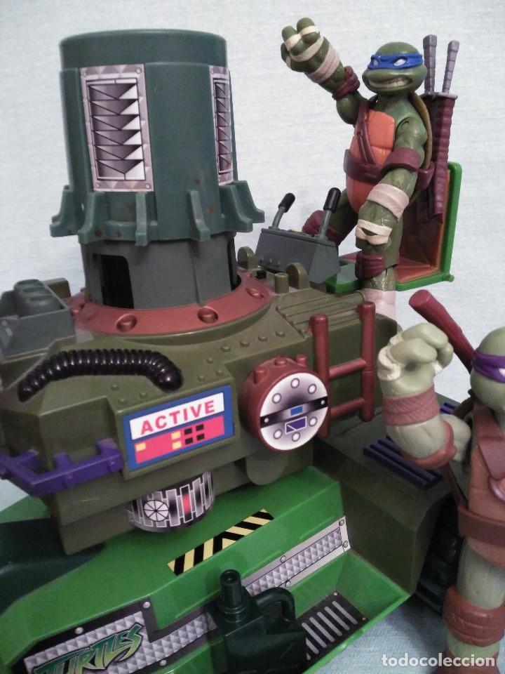 Figuras y Muñecos Tortugas Ninja: Camion lanzadiscos de las tortugas NINJA. - Foto 4 - 75117871