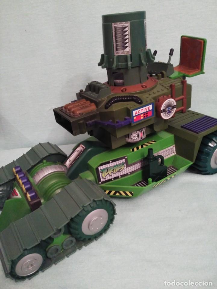 Figuras y Muñecos Tortugas Ninja: Camion lanzadiscos de las tortugas NINJA. - Foto 5 - 75117871