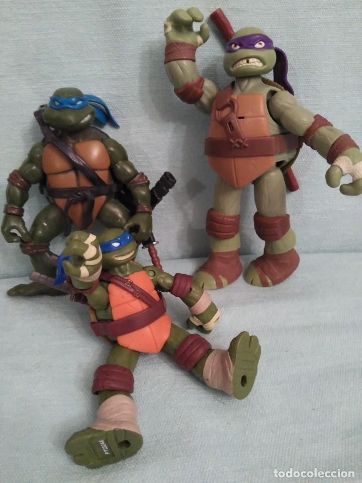 Figuras y Muñecos Tortugas Ninja: Camion lanzadiscos de las tortugas NINJA. - Foto 6 - 75117871