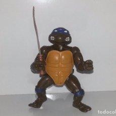 Figuras y Muñecos Tortugas Ninja: TORTUGAS NINJA : ANTIGUA TORTUGA NINJA LEONARDO PLAYMATES TOYS MIRAGE STUDIOS AÑO 1988 LEER. Lote 75482727