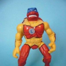 Figuras y Muñecos Tortugas Ninja: TMNT TEENAGE MUTANT NINJA TURTLES LEONARDO CAMO BLITZ CYCLE FIGURA PLAYMATES 1998. Lote 78829205