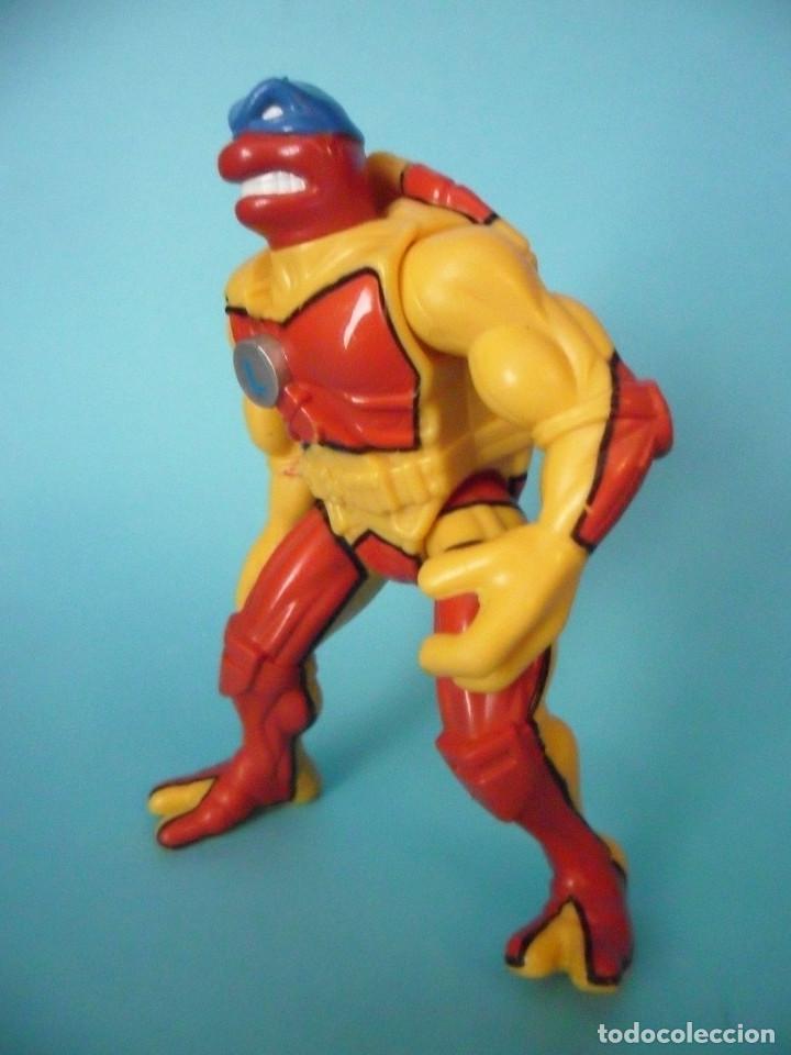 Figuras y Muñecos Tortugas Ninja: TMNT TEENAGE MUTANT NINJA TURTLES LEONARDO CAMO BLITZ CYCLE FIGURA PLAYMATES 1998 - Foto 2 - 78829205