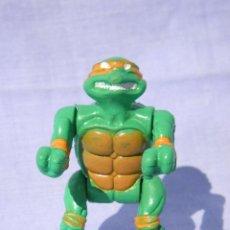 Figuras y Muñecos Tortugas Ninja: FIGURA DE ACCIÓN TORTUGAS NINJA MICHELANGELO DE 7 CM. Lote 80029893
