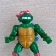 Figuras y Muñecos Tortugas Ninja: ANTIGUA FIGURA SERIE TORTUGAS NINJA PLAYMATES TOYS MIRAGE STUDIOS AÑO 1989 DIFICIL. Lote 81374864