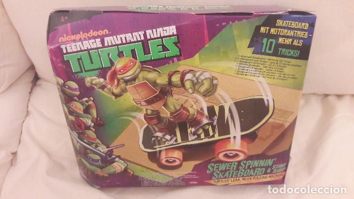 TORTUGAS NINJA. SKATEBOARD MOTORIZADO. TEENAGE MUTANT NINJA TURTLES (Juguetes - Figuras de Acción - Tortugas Ninja)