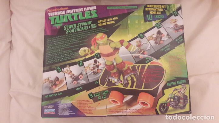Figuras y Muñecos Tortugas Ninja: TORTUGAS NINJA. SKATEBOARD MOTORIZADO. TEENAGE MUTANT NINJA TURTLES - Foto 3 - 83547248