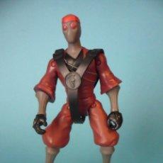 Figuras y Muñecos Tortugas Ninja: TMNT TEENAGE MUTANT NINJA TURTLES FOOT SOLDIER FIGURA DE 12 CM VIACOM 2012. Lote 84872544