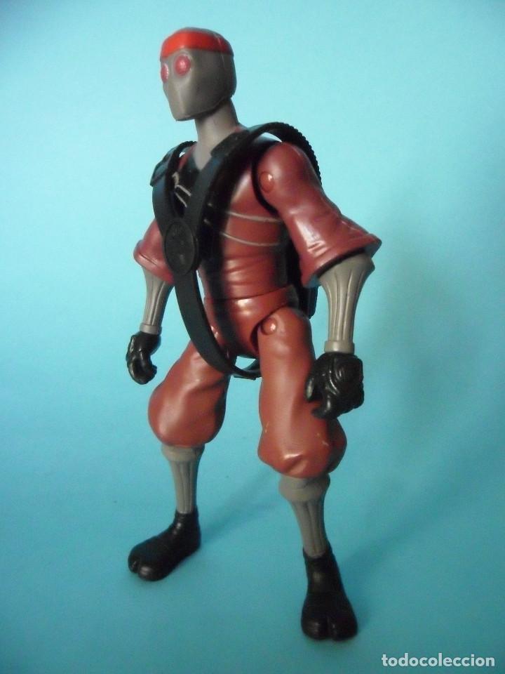 Figuras y Muñecos Tortugas Ninja: TMNT TEENAGE MUTANT NINJA TURTLES FOOT SOLDIER FIGURA DE 12 CM VIACOM 2012 - Foto 2 - 84872544