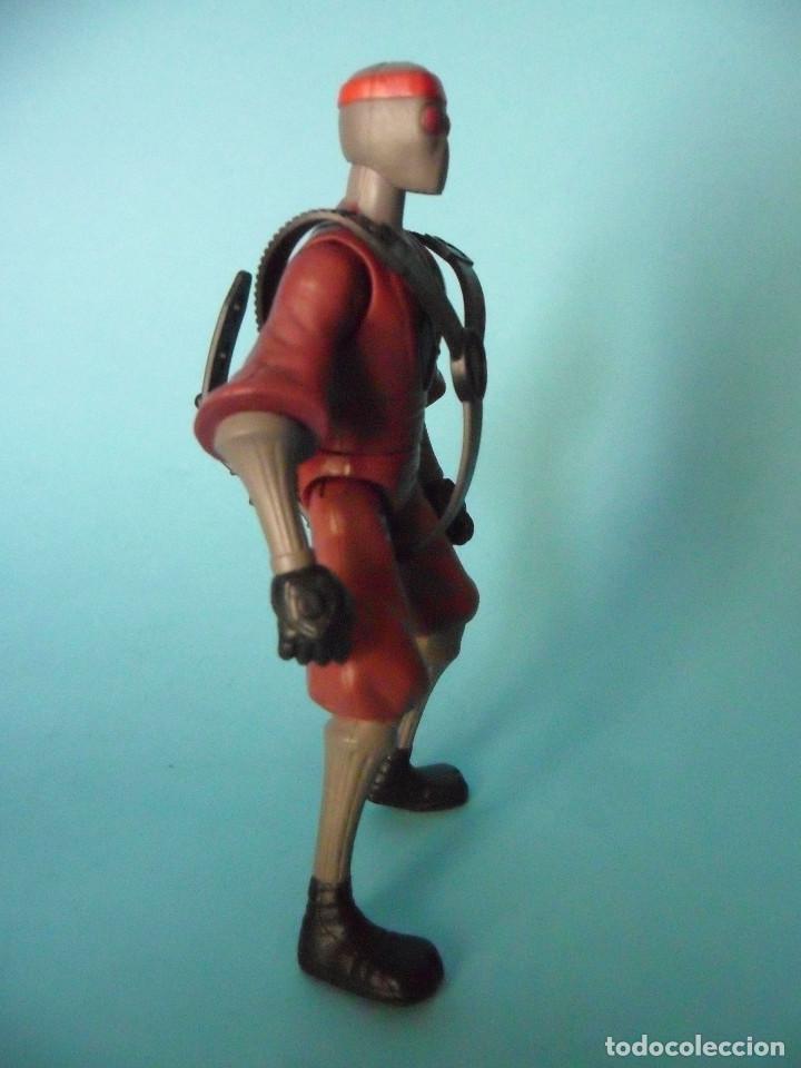 Figuras y Muñecos Tortugas Ninja: TMNT TEENAGE MUTANT NINJA TURTLES FOOT SOLDIER FIGURA DE 12 CM VIACOM 2012 - Foto 3 - 84872544