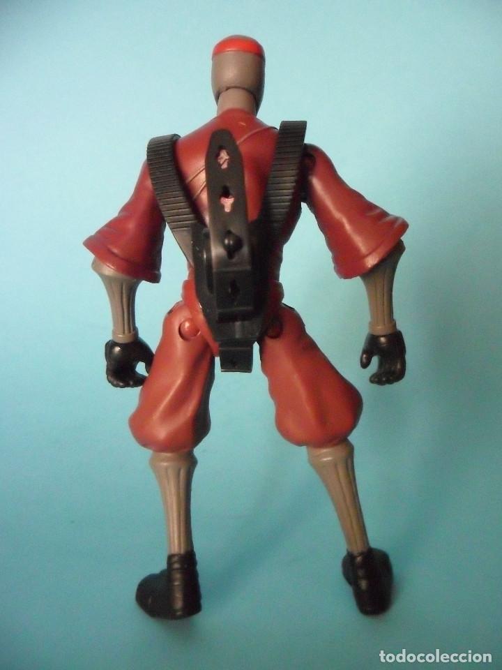 Figuras y Muñecos Tortugas Ninja: TMNT TEENAGE MUTANT NINJA TURTLES FOOT SOLDIER FIGURA DE 12 CM VIACOM 2012 - Foto 4 - 84872544