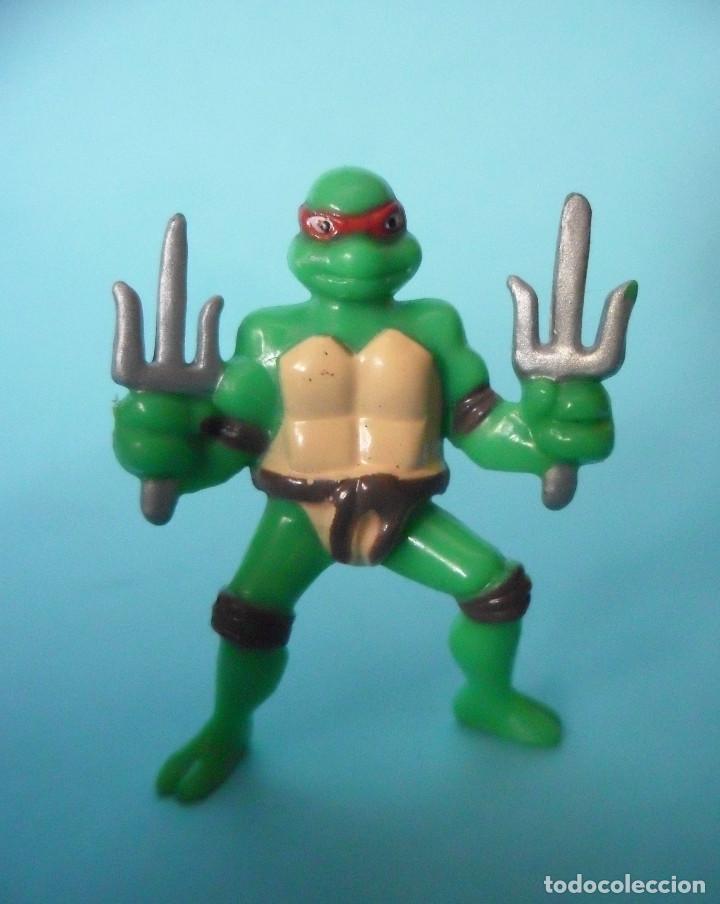 TMNT TEENAGE MUTANT NINJA TURTLES RAPHAEL FIGURA KINDER MIRAGE STUDIOS 2007 (Juguetes - Figuras de Acción - Tortugas Ninja)