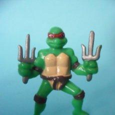 Figuras y Muñecos Tortugas Ninja: TMNT TEENAGE MUTANT NINJA TURTLES RAPHAEL FIGURA KINDER MIRAGE STUDIOS 2007. Lote 84935016