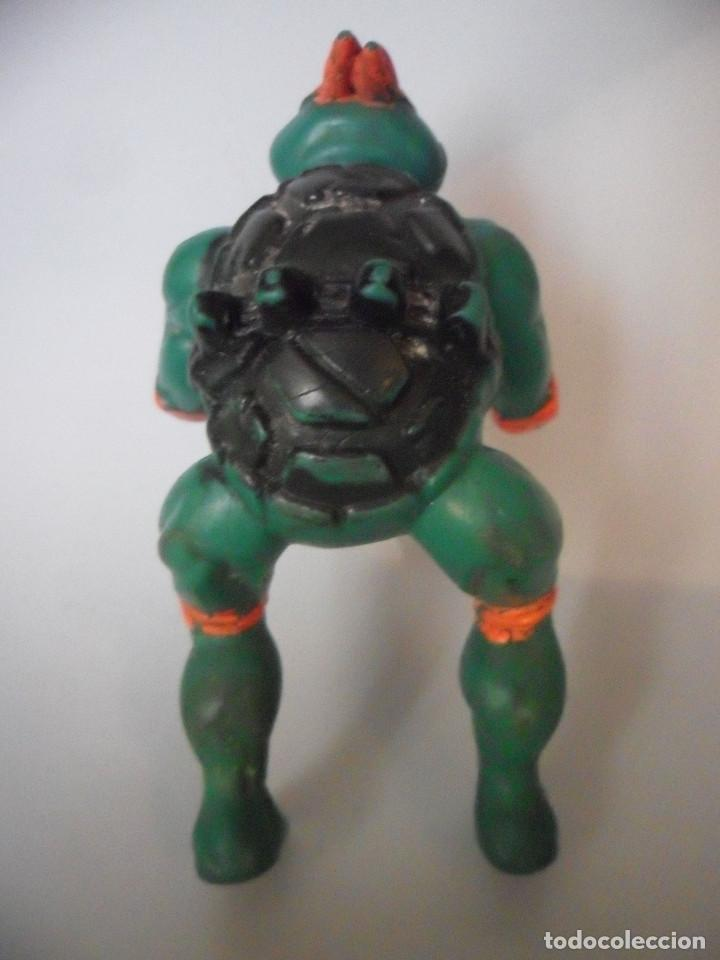 Figuras y Muñecos Tortugas Ninja: TMNT TEENAGE MUTANT NINJA TURTLES FIGURA BOOTLEG DE GOMA DE 9 CM - Foto 3 - 84947760