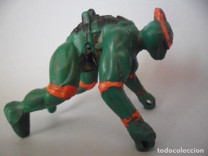 Figuras y Muñecos Tortugas Ninja: TMNT TEENAGE MUTANT NINJA TURTLES FIGURA BOOTLEG DE GOMA DE 9 CM - Foto 5 - 84947760