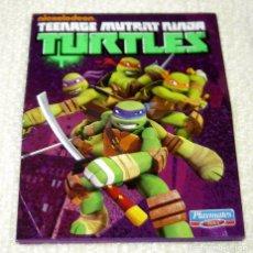 Figuras y Muñecos Tortugas Ninja: MINI CATÁLOGO DESPLEGABLE FIGURAS Y JUGUETES TMNT TORTUGAS NINJA TURTLES NICKELODEON DE PLAYMATES. Lote 147143721