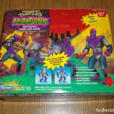 Figuras y Muñecos Tortugas Ninja: TORTUGAS NINJA MUTATIN FOOT SOLDIER BANDAI PLAYMATES TURTLES TNMT VINTAGE NUEVO A ESTRENAR. Lote 86432416