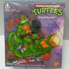 Figuras y Muñecos Tortugas Ninja: CHEAPSKATE. NUEVO EN CAJA. TEENAGE MUTANT HERO TURTLES. BANDAI. REF 5017. TORTUGAS NINJA. TMNT. 1989. Lote 88369338