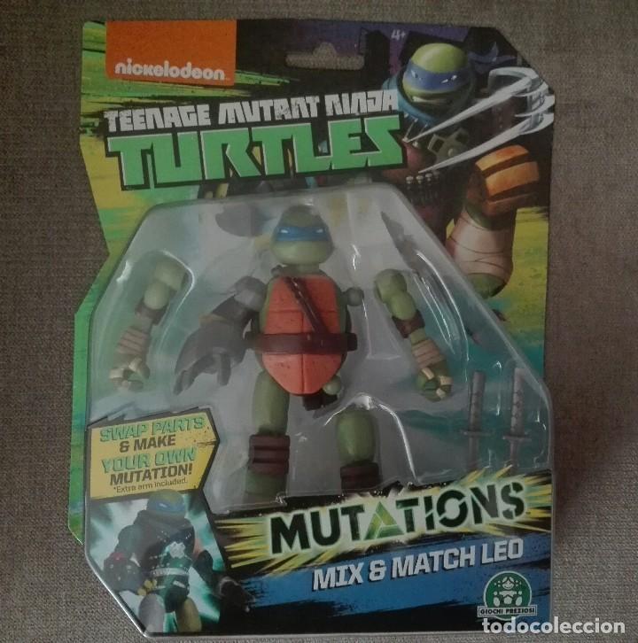 TORTUGA NINJA MUTANTE NUEVA (Juguetes - Figuras de Acción - Tortugas Ninja)