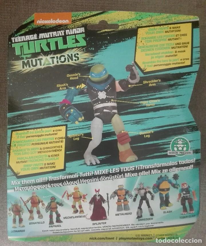 Figuras y Muñecos Tortugas Ninja: TORTUGA NINJA MUTANTE NUEVA - Foto 2 - 89775436