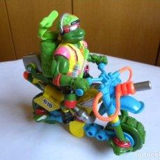 Figuras y Muñecos Tortugas Ninja: SEWER RALPH Y SU MOTO. Lote 94893923