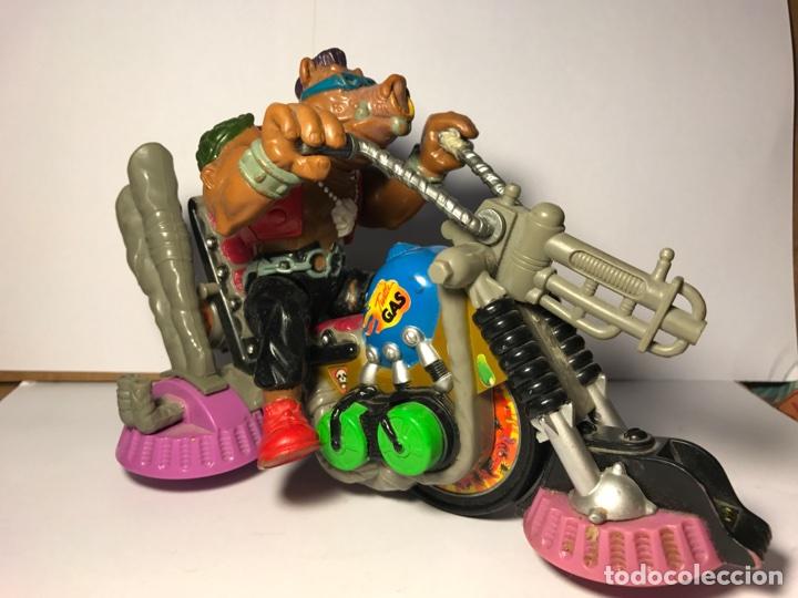 LAS TORTUGAS NINJA - MUTANTE BEBOP Y SU MOTO - MIRAGE STUDIO 1988 - 1990 (Juguetes - Figuras de Acción - Tortugas Ninja)