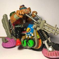 Figuras y Muñecos Tortugas Ninja: LAS TORTUGAS NINJA - MUTANTE BEBOP Y SU MOTO - MIRAGE STUDIO 1988 - 1990. Lote 95730415