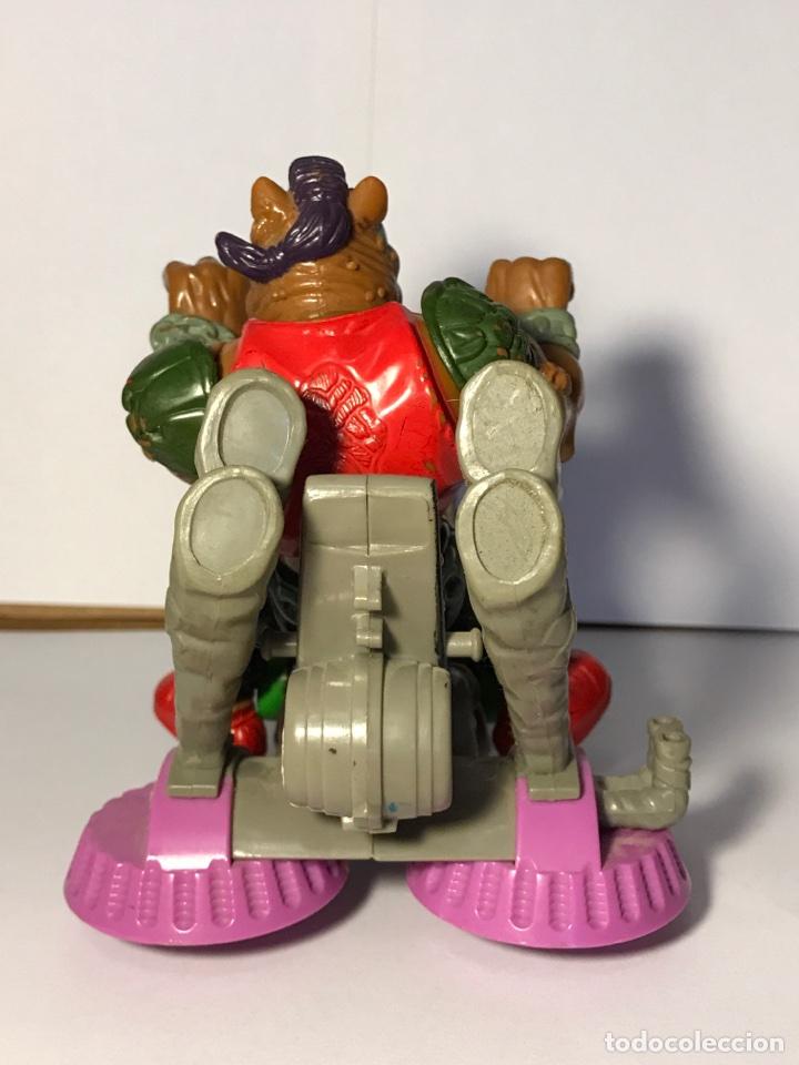 Figuras y Muñecos Tortugas Ninja: Las tortugas ninja - Mutante bebop y su moto - Mirage studio 1988 - 1990 - Foto 3 - 95730415