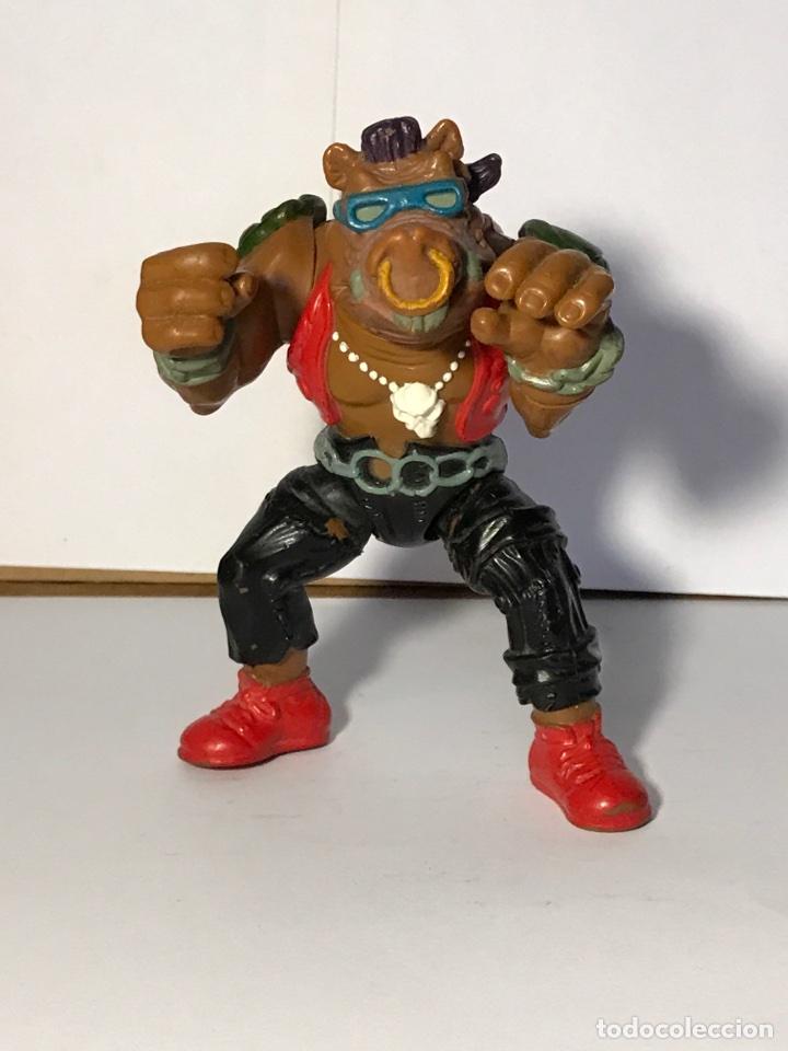 Figuras y Muñecos Tortugas Ninja: Las tortugas ninja - Mutante bebop y su moto - Mirage studio 1988 - 1990 - Foto 4 - 95730415