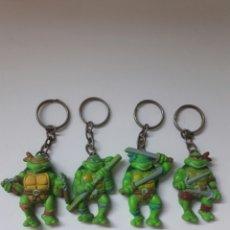 Figuras y Muñecos Tortugas Ninja: LLAVEROS TORTUGAS NINJA. Lote 96102371