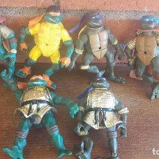 Figuras y Muñecos Tortugas Ninja: TORTUGAS NINJA ARTICULADAS. Lote 97224115