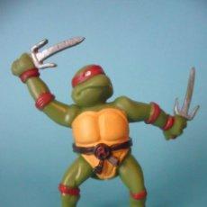 Figuras y Muñecos Tortugas Ninja: TMNT TEENAGE MUTANT NINJA TURTLES RAPHAEL FIGURA DE PVC DE 8 CM YOLANDA MIRAGE STUDIOS 1988. Lote 98017335