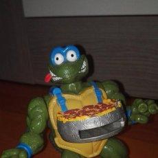 Figuras y Muñecos Tortugas Ninja: FIGURA ARTICULA TORTUGAS NINJA TMNT SERIE PIZZA TOSSIN TURTLES PLAYMATES. Lote 99922423