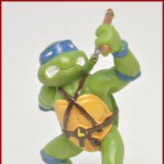 Figuras y Muñecos Tortugas Ninja: MIRAGE STUDIOS - 1988 - PVC TORTUGAS NINJA TMNT TOURTLES - LEONARDO LEONARD . Lote 101295875