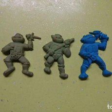 Figuras y Muñecos Tortugas Ninja: LOTE 5 TORTUGAS NINJA, PROMOCIONAL COLGATE, MIRAGE 1991. Lote 103484031