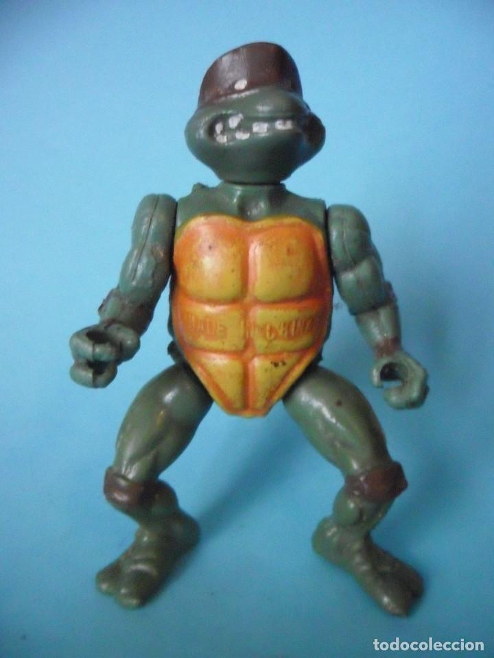 RARA VINTAGE TMNT TEENAGE MUTANT NINJA TURTLES FIGURA BOOTLEG (Juguetes - Figuras de Acción - Tortugas Ninja)