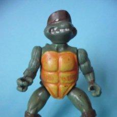 Figuras y Muñecos Tortugas Ninja: RARA VINTAGE TMNT TEENAGE MUTANT NINJA TURTLES FIGURA BOOTLEG . Lote 104230403