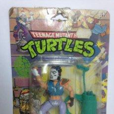 Figuras y Muñecos Tortugas Ninja: TMNT TEENAGE MUTANT TORTUGAS NINJA CASEY JONES BLISTER 1989 VINTAGE PRECINTADO TMNT NINJA TURTLES. Lote 105223567