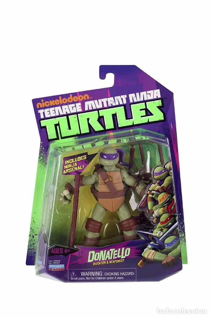 TURTLES - DONATELLO - PLAYMATES TOYS (Juguetes - Figuras de Acción - Tortugas Ninja)