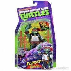 Figuras y Muñecos Tortugas Ninja: TURTLES - FLINGERS RAPHAEL - PLAYMATES TOYS. Lote 105800783