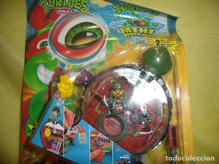 Figuras y Muñecos Tortugas Ninja: Tortugas Ninja mini mutants de Ideal, año 1994, Nuevo sin abrir. - Foto 2 - 162540968