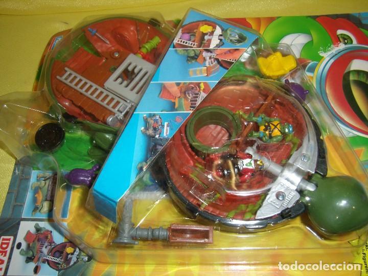 Figuras y Muñecos Tortugas Ninja: Tortugas Ninja mini mutants de Ideal, año 1994, Nuevo sin abrir. - Foto 4 - 162540968