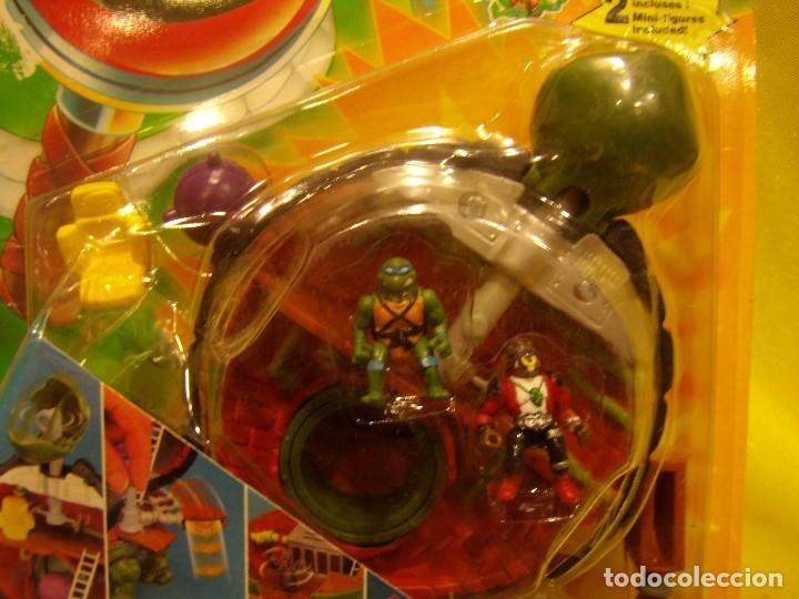 Figuras y Muñecos Tortugas Ninja: Tortugas Ninja mini mutants de Ideal, año 1994, Nuevo sin abrir. - Foto 5 - 162540968