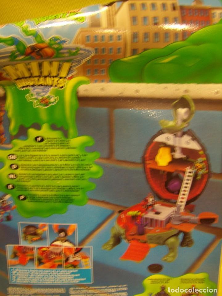 Figuras y Muñecos Tortugas Ninja: Tortugas Ninja mini mutants de Ideal, año 1994, Nuevo sin abrir. - Foto 7 - 162540968