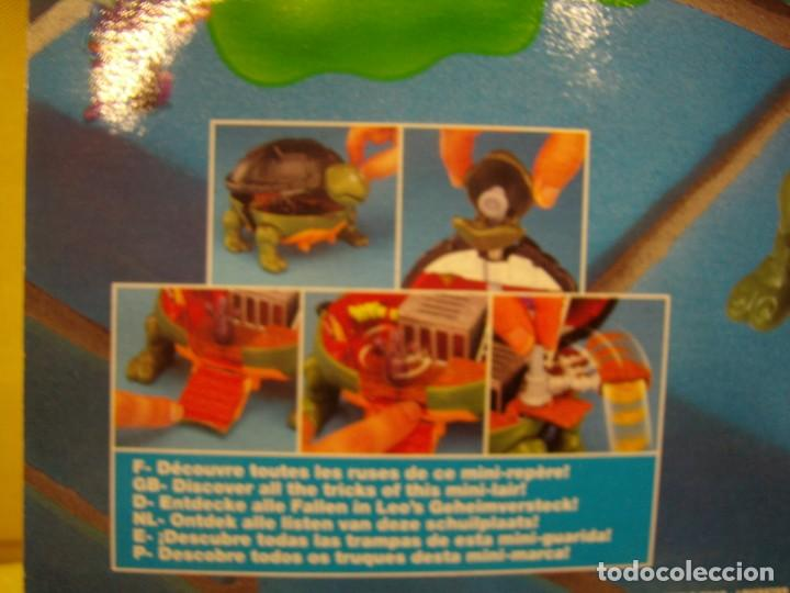 Figuras y Muñecos Tortugas Ninja: Tortugas Ninja mini mutants de Ideal, año 1994, Nuevo. - Foto 9 - 162540968